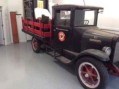 International Harvester : Other A-3 cab chassis 1929 international flat stake bed truck a 3 cab chassis texaco truck