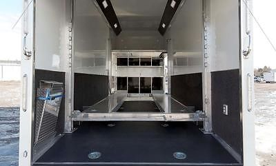 STACKER! 26' Aluminum ATC Enclosed Carhauler Cargo Trailer w/ Lift, Cabinets