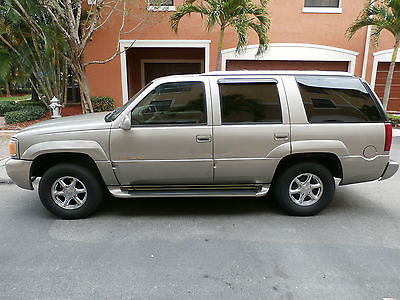 Cadillac : Escalade Base Sport Utility 4-Door 2000 cadillac escalade excellent condition runs like new