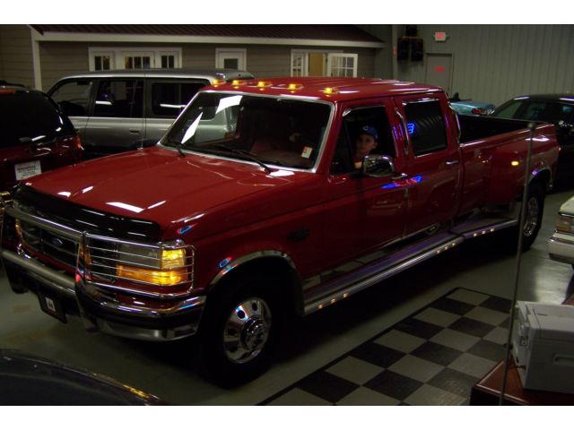 Ford : F-350 1-OWNER 36k SEE 100 PHOTOS 1 OF THE BEST ON MARKET MINT-SOUTHERN-7.3L-TURBO-DIESEL-XLT-1-TON-CREW-CAB-DUALLY-AC-COMP-2-POWERSTROKE
