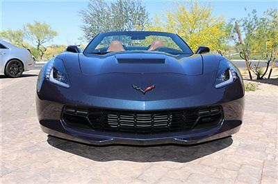Chevrolet : Corvette 2dr Z51 Convertible w/2LT 2014 chevrolet corvette convertible brand new with 600 miles 2 lt z 51 z 06 looks