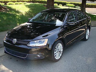Volkswagen : Jetta TDI Premium Sedan 4-Door 2013 volkswagen jetta tdi premium only 8 k mi navigation fender sound roof