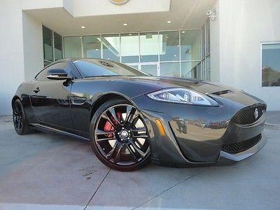 Jaguar : XK S Coupe XKR-S 550HP Carbon Fiber Engine Cover Suede Steering Wheel
