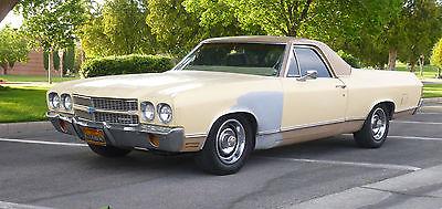 Chevrolet : El Camino 1970 chevrolet el camino 1970 chevroley el camino