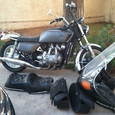Honda Gold Wing Classic 1000cc Goldwing GL1000 1979 Cafe Racer Cruiser Harley Motorcycle