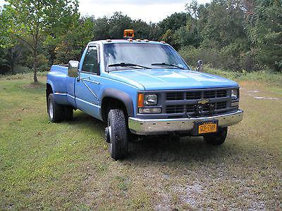 Chevrolet : C/K Pickup 3500 Cheyene  1996 chevy k 3500 dually 38 k original miles