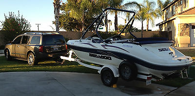 2001 SeaDoo Challenger2000 - 20' JetBoat with WakeBoard tower and trailer