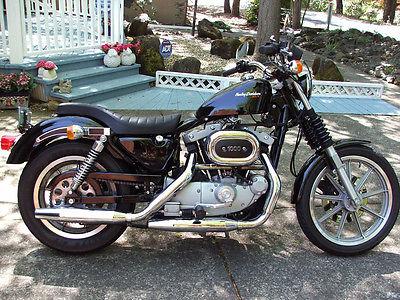 Harley-Davidson : Sportster 1983 harley xlx sportster ironhead