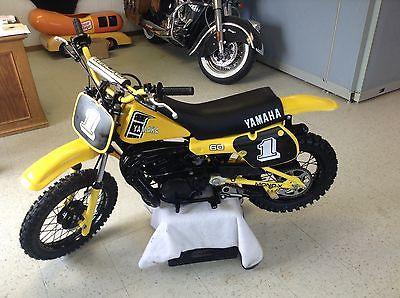 Yamaha : YZ 1982 yamaha yz 60 yz 60 yz ahrma vintage mx motocross 50 enduro race minibike xr