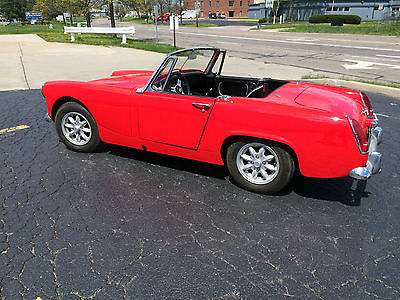 Austin Healey : Sprite Sprite / 3100 1965 austin healey sprite restored with extra 1275 engine and datsun 210 trans