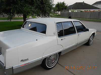 Cadillac : Fleetwood 60 Special Sedan 4-Door 1989 cadillac fleetwood 60 special sedan 4 door 4.5 l