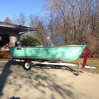 1959 T&T(Thompson) 14 ft Cruiser 40hp(RESTORED TO ORIGINAL!)The FIRST T&T made!!