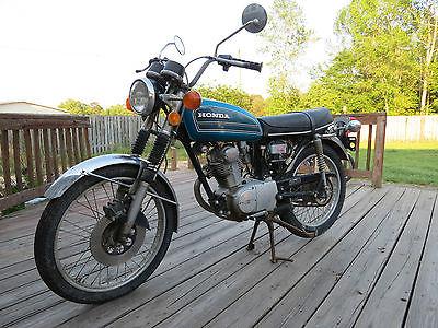 Honda : CB 1975 honda cb 125 s cb 125 s street bike motorcycle 1900 orig miles 1 owner