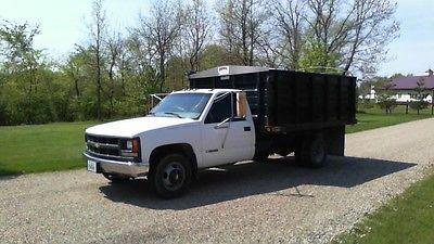 Chevrolet : C/K Pickup 3500 C3500 2 DOOR 2000 chevy c 3500 dump truck