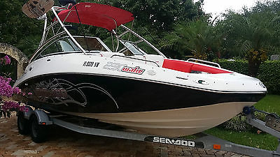 2009 SEA DOO 230 WAKE EDITION 510 HP - ONLY 22.7 HOURS!! LIKE NEW!!