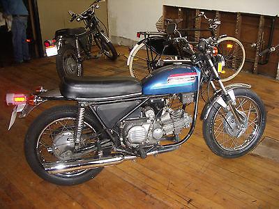 Harley-Davidson : Other 1974 harley davidson sprint 350 ss aermacchi