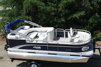 16 ft high quality pontoon boat.