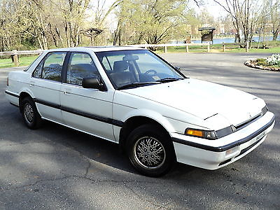 Honda : Accord LX 1989 honda accord lx excellent looking running condition