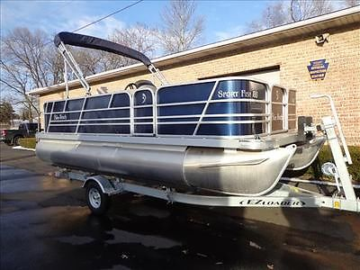 2014 Sport Fish 180 pontoon boat