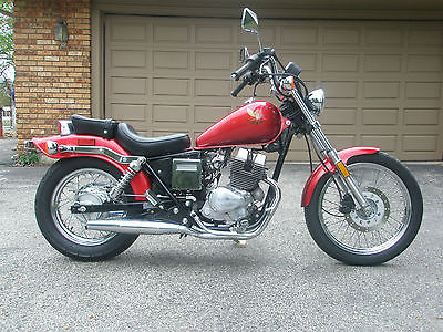Honda : Rebel 1985 Honda Rebel Cmx 250 C Motorcycle