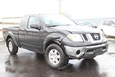 Nissan : Frontier SV 4WD 2011 nissan frontier sv 4 wd repairable salvage wrecked damaged fixable save