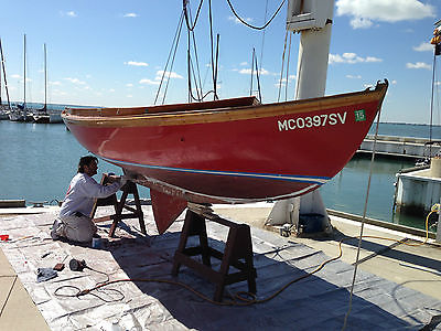 17 ft. Gaff Haven 12 1/2 Sailboat.  Centerboard version of the Herreshoff 12 1/2