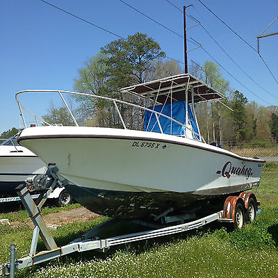 1987 Mako 231 Center Console T-Top