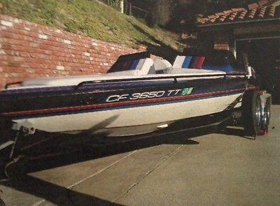 1997 Cole boat & trailer