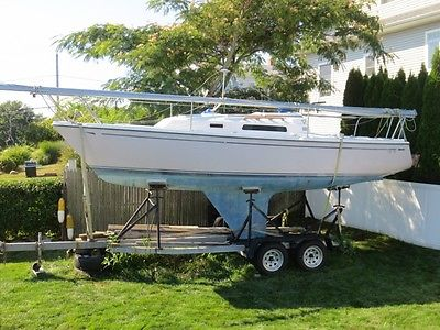 1984 CAL 24' Sailboat Galvanized Tandem Trailer Rhode Island