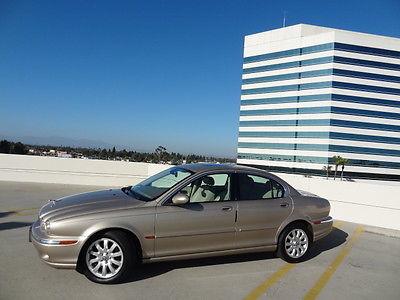 Jaguar : X-Type X-Type 2002 jaguar x type awd 4 door sedan 2.5 l automatic loaded nice car low miles
