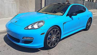 Porsche : Panamera 4 Hatchback 4-Door 2011 porsche panamera 4 awd riviera blue 41000 miles rare