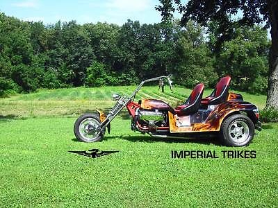 Custom Built Motorcycles : Other V8 Motorcycles Trike