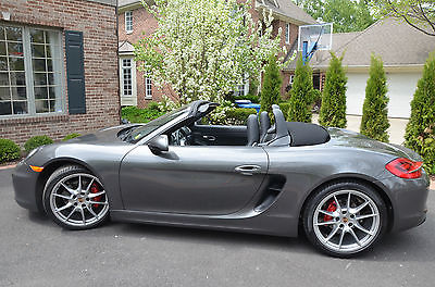 2013 porsche boxster gray cars for sale. Black Bedroom Furniture Sets. Home Design Ideas