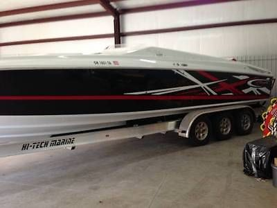 2008 Baja 35 Outlaw - One Owner - Pristine Condition - 2 covers & Custom Trailer