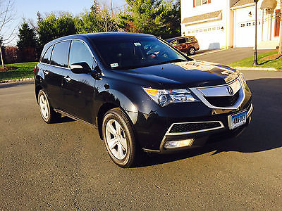 Acura : MDX Technology Package 2011 acura mdx tech package suv 3.7 l awd navigation backup camera