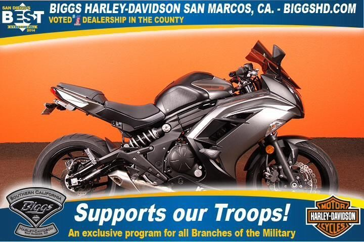 Grey kawasaki ninja motorcycles for sale for Honda dealership san marcos