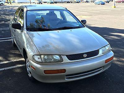 Mazda : Protege DX Sedan 4-Door 1996 mazda protege dx silver 170 k 1.5 l automatic