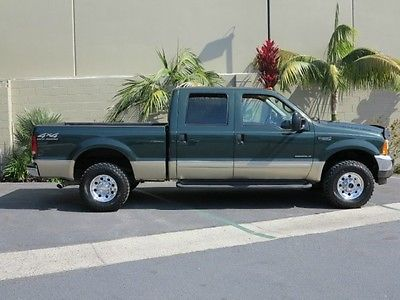 Ford : F-250 FreeShipping F-250 7.3L Diesel 4X4 Crew Cab Short Bed XLT 111K Miles! Mint Condion! 1 Owner!