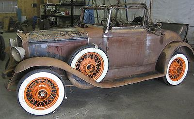 Pontiac : Other Convertible 1931 pontiac convertible sports coupe