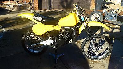 Suzuki : RM 1982 suzuki rm 465 rm 465 rm 465 vmx