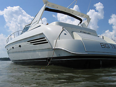 1997 Trojan Express, twin deisel Cats, 44 ft, two bed two bath
