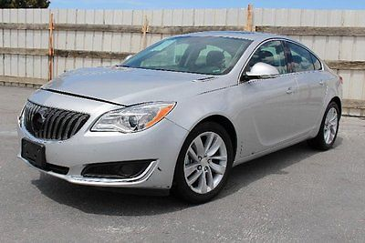 Buick : Regal . 2015 buick regal repairable salvage fixable wrecked project save rebuilder