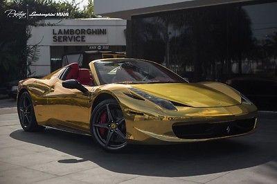 Ferrari : 458 2013 ferrari