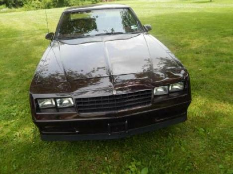 1986 Chevrolet Monte Carlo for: $11900
