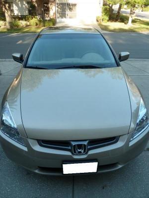 Honda Accord Silver