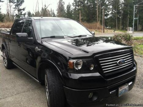 2007 Ford F-150 Harley Davison Supercharger