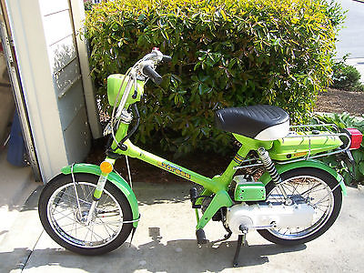 Honda : Other 1978 honda express moped rare color 2 tone green
