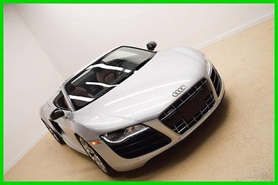 Audi : R8 5.2 2012 5.2 used 5.2 l v 10 40 v automatic quattro convertible premium