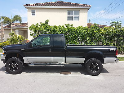 Ford : F-250 XLT 2002 ford f 250 super duty super cab 4 x 4 orig owner very clean
