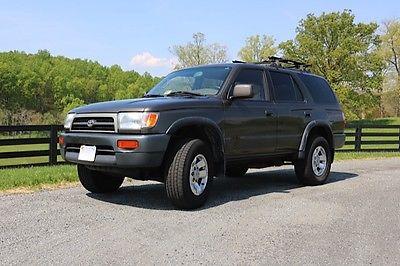 Toyota : 4Runner SR5 Sport Utility 4 Door 1998 Dark Green Toyota 4 Runner 4